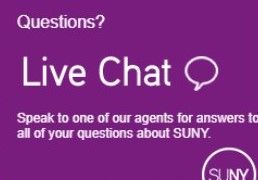 SUNY Live Chat